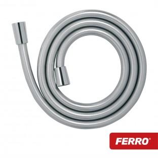 Furtun dus Ferro L-150cm (anti-torsiune) Silver Shine