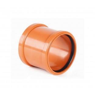 Mufa PVC D.110