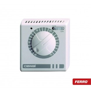 Termostat de ambient electromecanic FERRO RQ 30