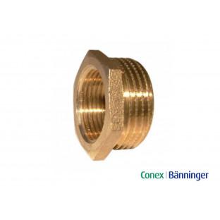 Reductie bronz 1/2'' M x 3/8'' F