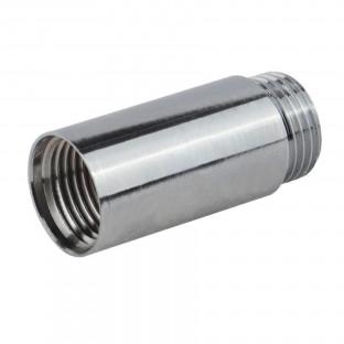 Mufa cromata L= 10mm x 1/2 MF