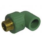 Cot PPR verde F 20x1/2