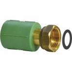 Racord PPR verde mixt cu olandez 25x3/4 WAVIN