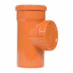 Piesă inspecție PVC D.125