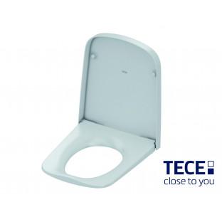 Capac WC TECEone, cu inchidere soft close