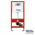 Rezervor WC cu cadru TECE standard act.frontala, H=1120mm