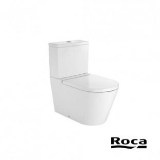 Vas WC INSPIRA ROUND, lipit de perete, cu evacuare duala