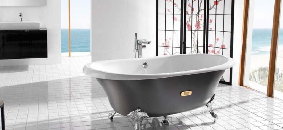 Cada din fontă ROCA - pentru o baie modernă!