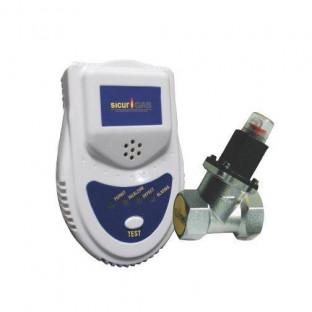 Detector gaz SICURGAS +electrovalva 1
