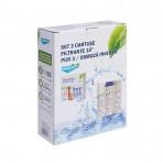 Set 3 cartuse filtrante<aquaPUR> 10x1 PUR3/RO